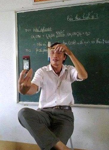 Lớp học có thầy