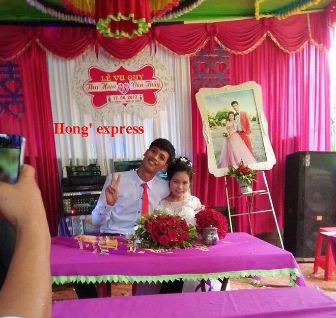 Hình ảnh Đám cưới của chàng 1m83 - nàng 1m39 được chia sẻ nhiệt tình nhất hôm nay số 1