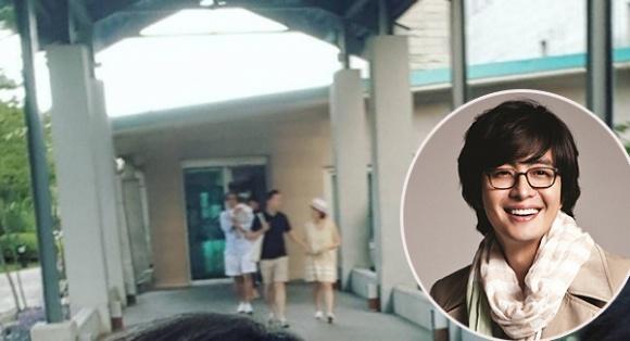 Con trai đầu chưa đầy tuổi, bà xã Bae Yong Joon đón tin vui bầu bí lần hai 2