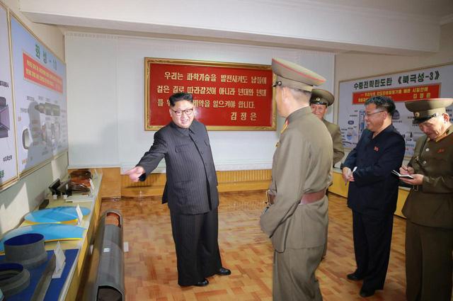 Triều Tiên có thể đang chế tạo ICBM bắn tới thủ đô nước Mỹ 1
