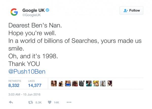 Cụ bà 86 tuổi hỏi Google 1 câu khiến toàn hãng xúc động và gửi thư phản hồi riêng 2