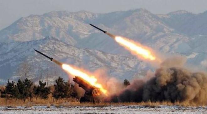 3 tên lửa Triều Tiên lại được phóng ra biển Nhật Bản 1