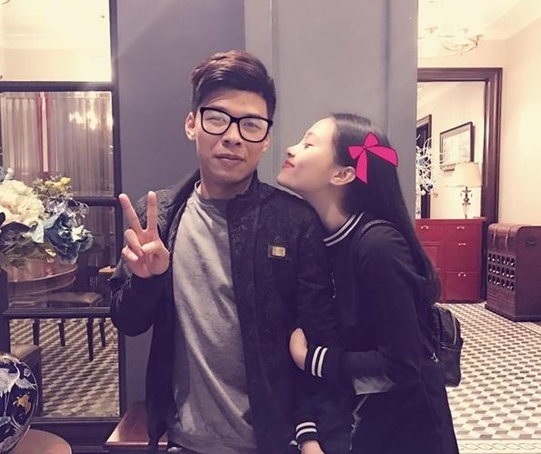 Bạn gái xinh như hot girl của nam diễn viên xấu nhất Việt Nam 6
