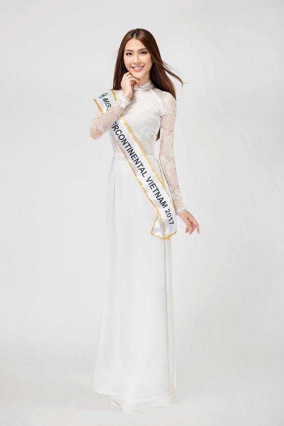 Sau The Face, Tường Linh đại diện Việt Nam thi Hoa hậu Liên lục địa 2017 2