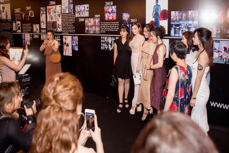 Lý Nhã Kỳ diện trang phục haute couture đi xem show thời trang 6