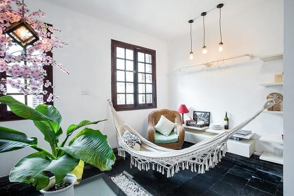 Căn Studio gây ấn tượng bởi vẻ đẹp phóng khoáng như resort 4