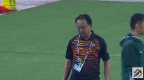 Malaysia thua trận đầy