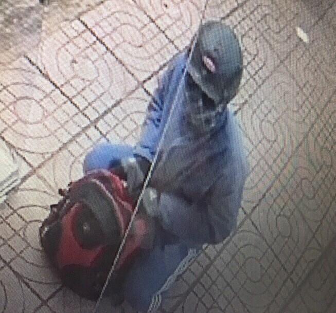 Hình ảnh ban đầu nghi can gây ra vụ cướp ngân hàng ở Đồng Nai 1