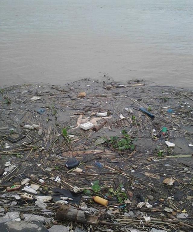 Hoảng hồn phát hiện hai  thi thể trôi trên sông Thái Bình 1