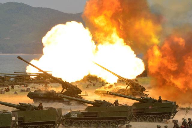 Triều Tiên dọa xóa sổ quân đội Hàn Quốc bằng vũ khí hạt nhân 1