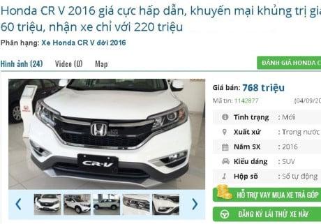 """Hình ảnh Giá ô tô giảm 400 triệu/ chiếc, người Việt rủ nhau """"om tiền"""" chờ 2018? số 1"""