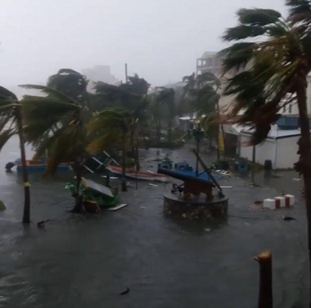 Siêu bão cấp 5 Irma biến một đảo ở Caribe thành đống đổ nát 6
