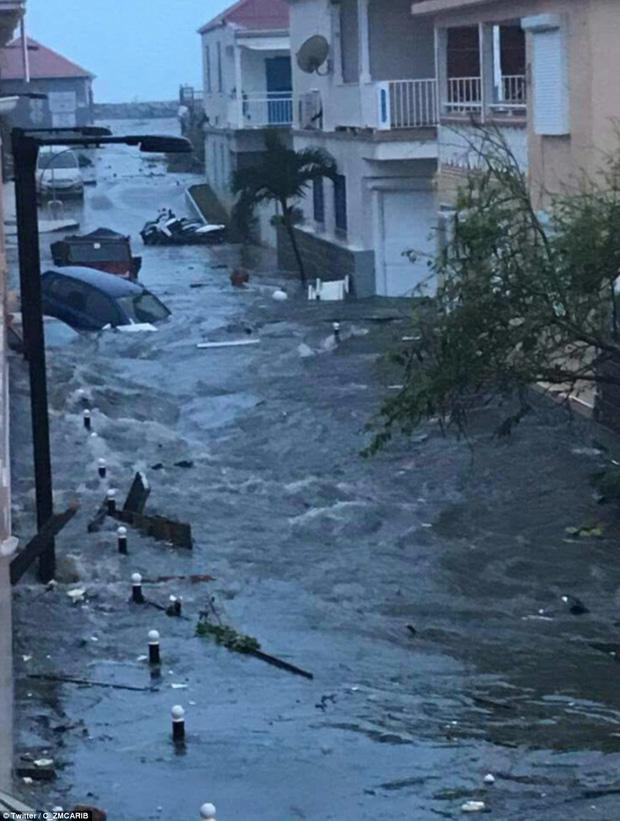 Siêu bão cấp 5 Irma biến một đảo ở Caribe thành đống đổ nát 4