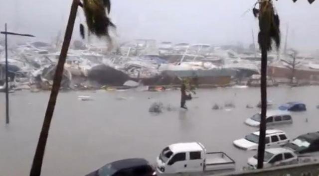 Sức hủy diệt khủng khiếp của siêu bão Irma mạnh nhất Đại Tây Dương 2