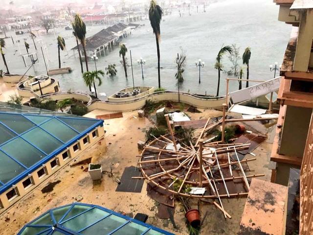 Sức hủy diệt khủng khiếp của siêu bão Irma mạnh nhất Đại Tây Dương 4