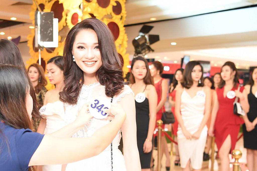 Ngắm nhan sắc của dàn thí sinh sơ khảo Hoa hậu Hoàn vũ phía Bắc 1