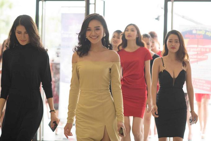 Ngắm nhan sắc của dàn thí sinh sơ khảo Hoa hậu Hoàn vũ phía Bắc 2