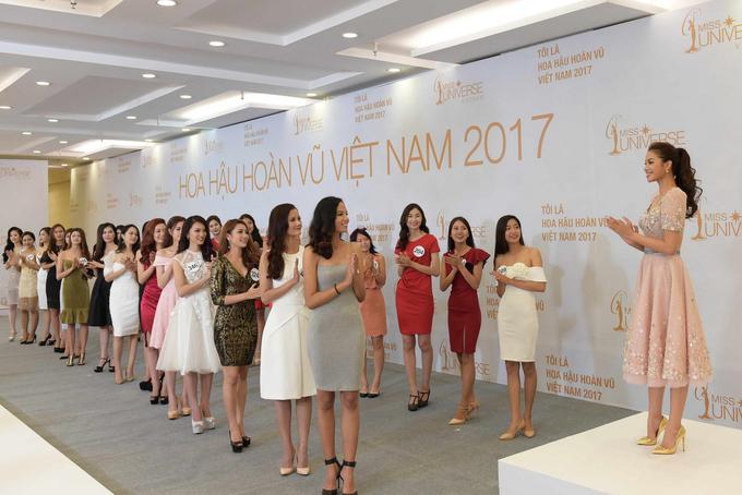 Ngắm nhan sắc của dàn thí sinh sơ khảo Hoa hậu Hoàn vũ phía Bắc 5