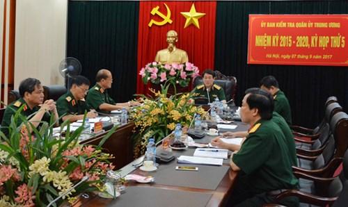 UBKT Quân ủy Trung ương đề nghị kỷ luật một số tổ chức, cá nhân 1