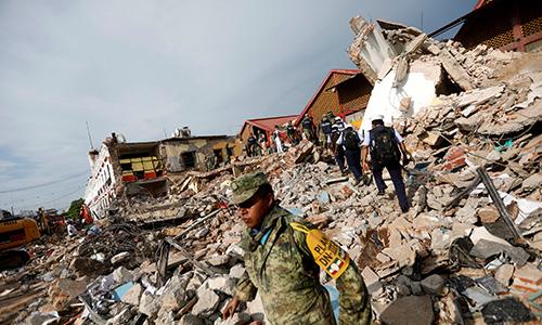 Mexico: Động đất mạnh nhất trong thế kỷ, hàng chục người thiệt mạng 1