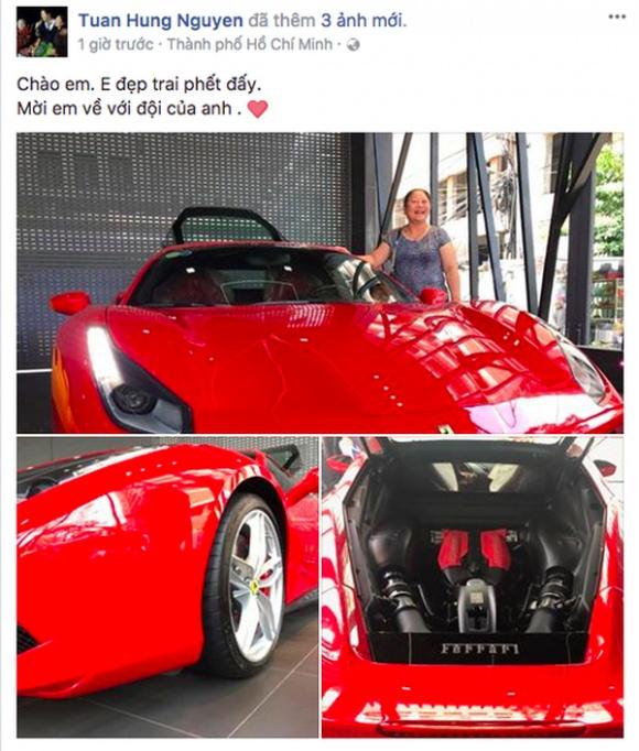 Hình ảnh Duy Mạnh ngầm đá xéo Tuấn Hưng mua siêu xe tiền tỷ số 1