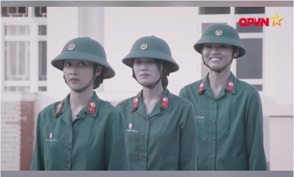 """Hình ảnh Càng nghiêm túc, Hương Giang Idol càng siêu """"lầy"""" trong  """"Sao nhập ngũ"""" số 2"""