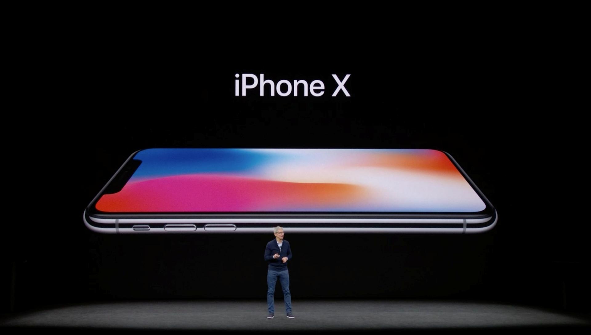 Hình ảnh iPhone X chính thức ra mắt: viền siêu mỏng, nhận diện mặt 3D số 1