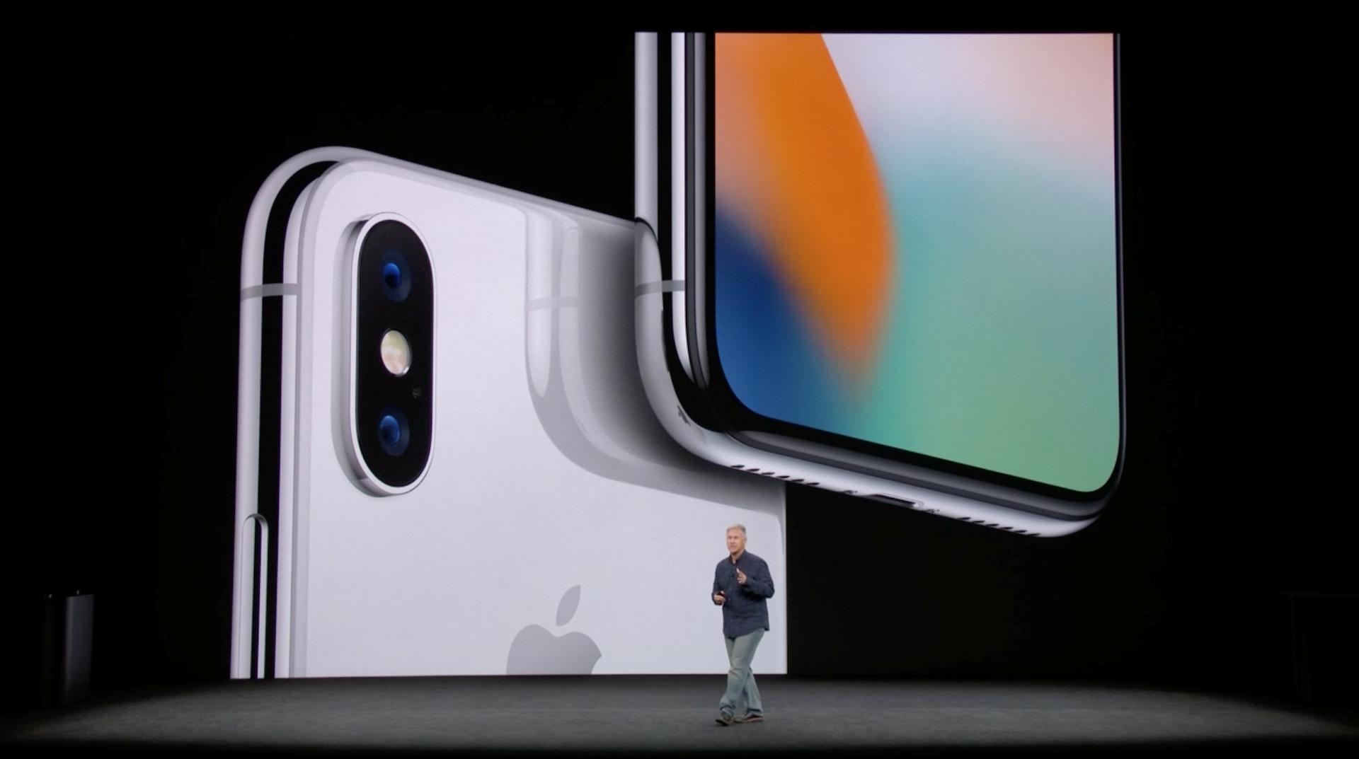 Hình ảnh iPhone X chính thức ra mắt: viền siêu mỏng, nhận diện mặt 3D số 2