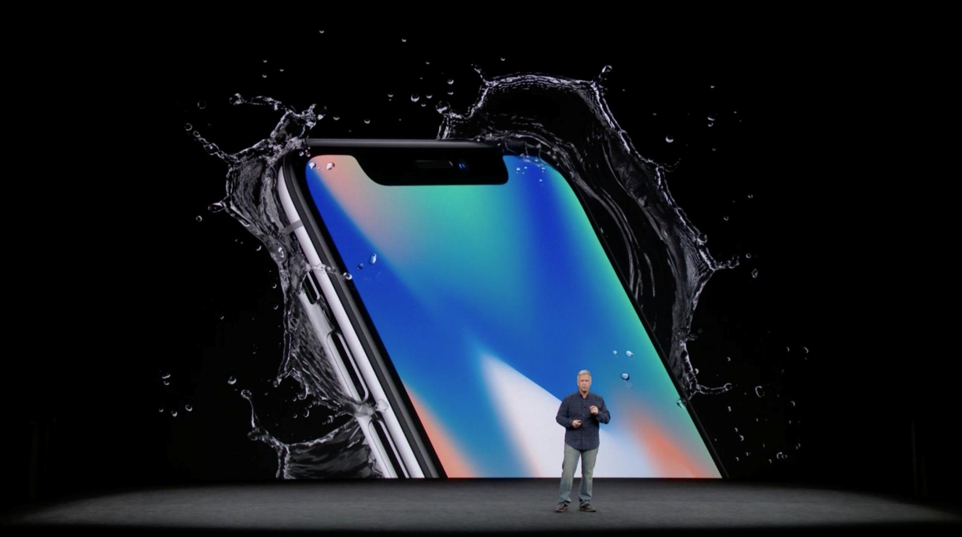 Hình ảnh iPhone X chính thức ra mắt: viền siêu mỏng, nhận diện mặt 3D số 3