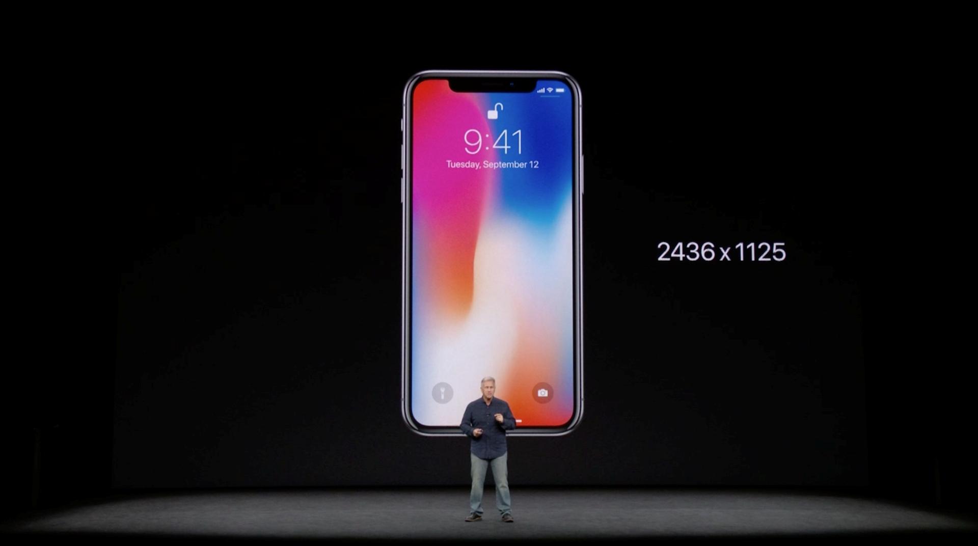 Hình ảnh iPhone X chính thức ra mắt: viền siêu mỏng, nhận diện mặt 3D số 4