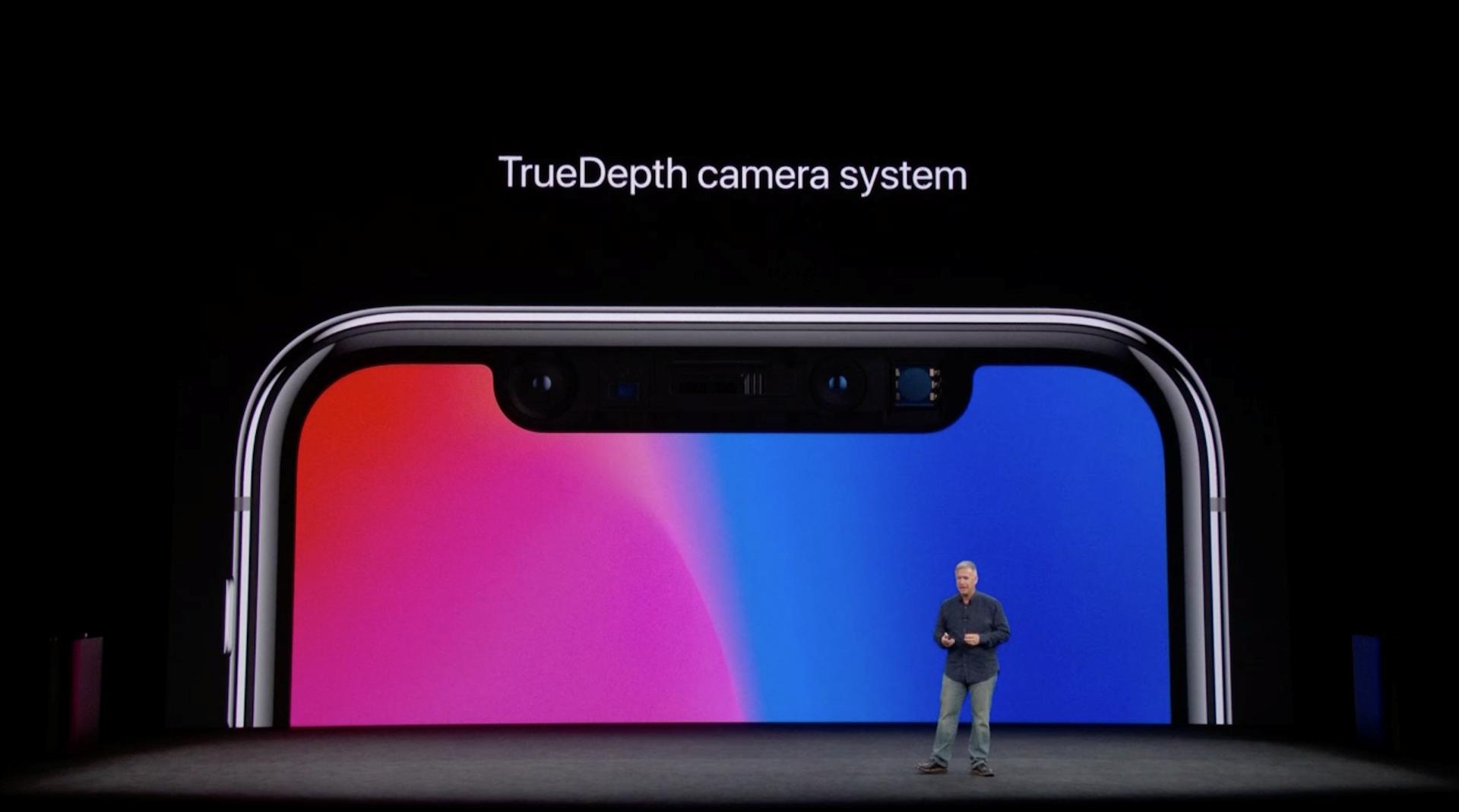 Hình ảnh iPhone X chính thức ra mắt: viền siêu mỏng, nhận diện mặt 3D số 6