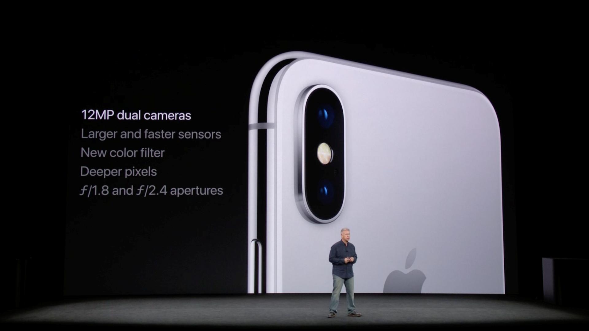 Hình ảnh iPhone X chính thức ra mắt: viền siêu mỏng, nhận diện mặt 3D số 7