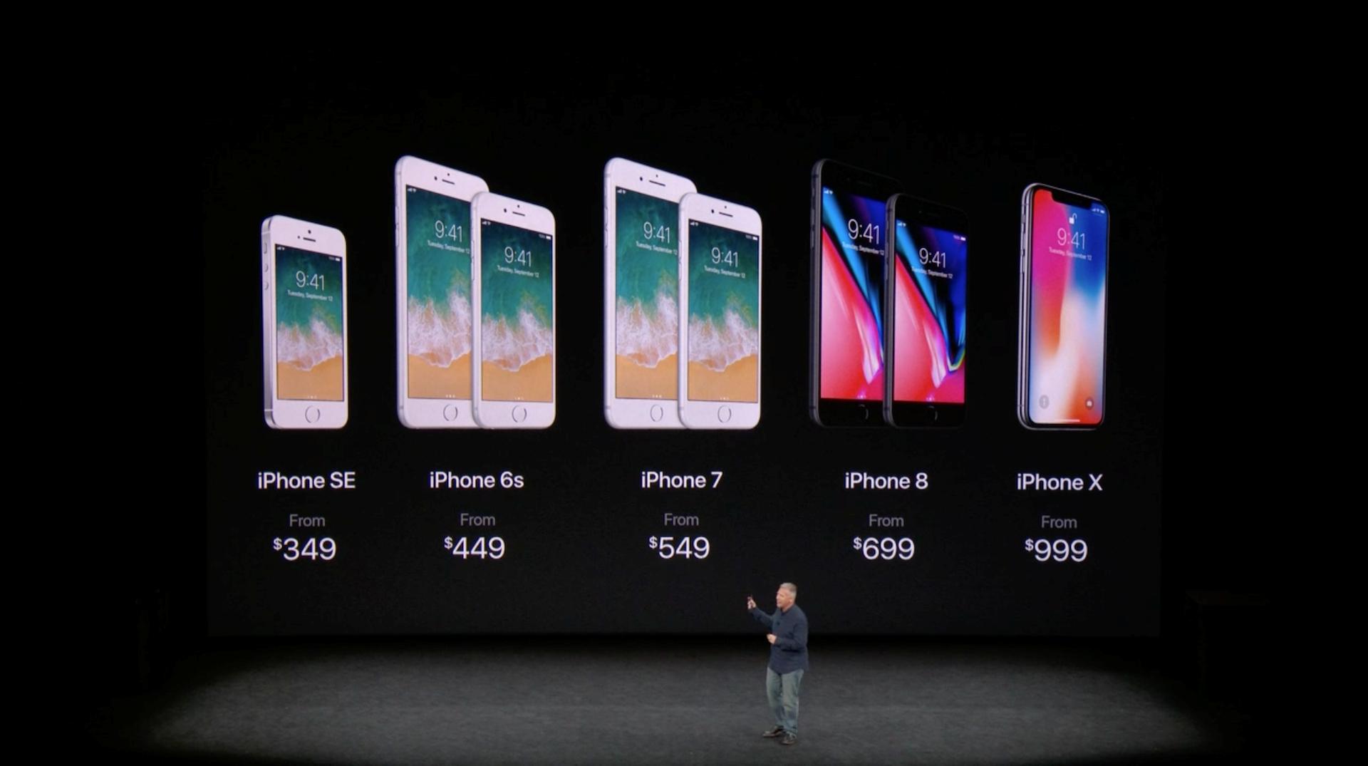 Hình ảnh iPhone X chính thức ra mắt: viền siêu mỏng, nhận diện mặt 3D số 9