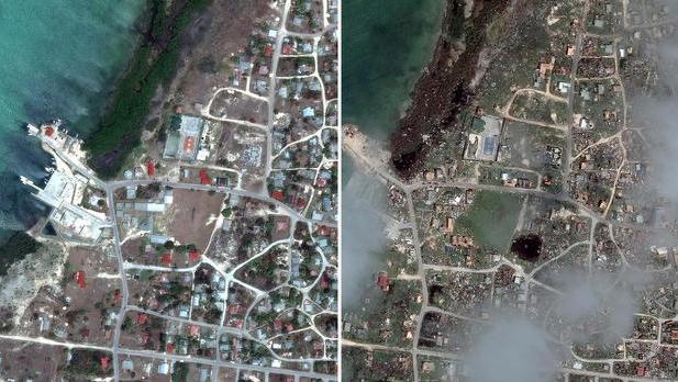 Sốc với sức hủy diệt của siêu bão Irma qua ảnh vệ tinh 5
