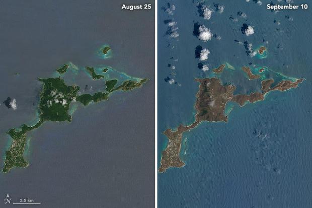 Hình ảnh Sốc với sức hủy diệt của siêu bão Irma qua ảnh vệ tinh số 8
