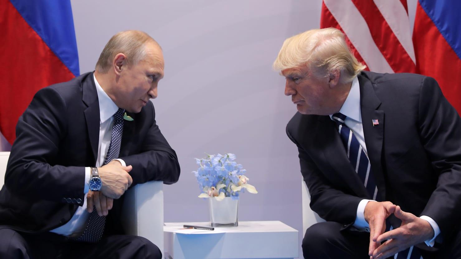 Hình ảnh Trump - Putin có thể sẽ gặp nhau tại Việt Nam số 1