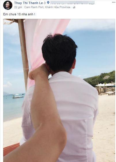 Hình ảnh Trường Giang lộ ảnh tình tứ với Thanh Thúy khi Nhã Phương đi vắng? số 2
