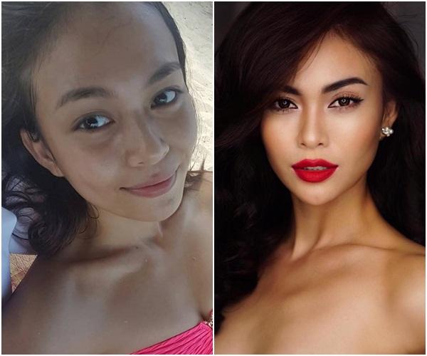 Hình ảnh Nhan sắc thí sinh Hoa hậu Hoàn vũ Việt Nam 2017 khi trút bỏ son phấn số 3