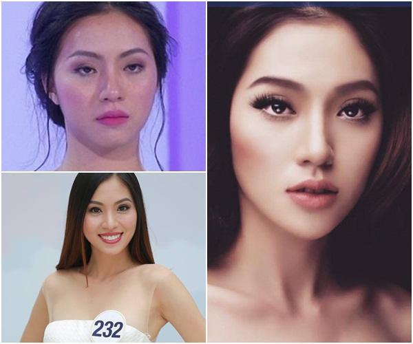 Hình ảnh Nhan sắc thí sinh Hoa hậu Hoàn vũ Việt Nam 2017 khi trút bỏ son phấn số 5