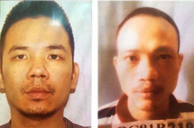 Hình ảnh Truy nã đặc biệt hai tử tù trốn khỏi phòng biệt giam số 1