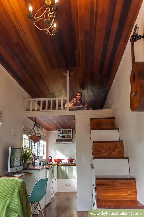 Ấn tượng thiết kế đặc biệt của căn nhà 17m2 khiến bao người mơ ước 17