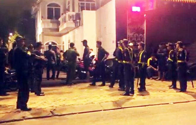 Hàng trăm cảnh sát đột kích quán bar có tiếng tại Bình Dương 1