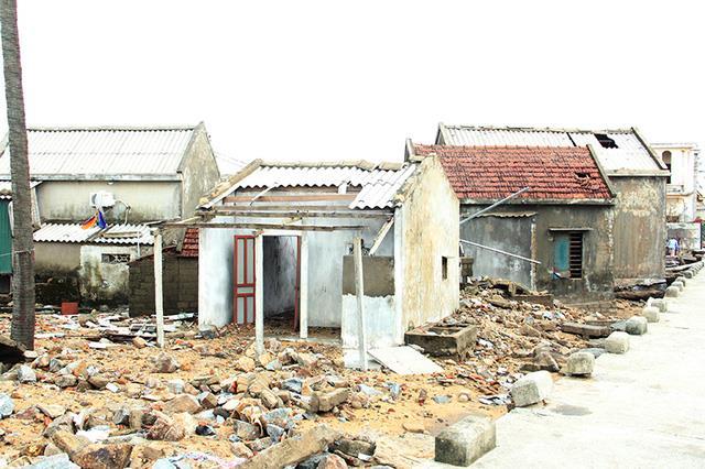 Xót xa cảnh hoang tàn sau bão ở Hà Tĩnh 2