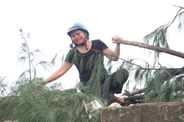 Xót xa cảnh hoang tàn sau bão ở Hà Tĩnh 5