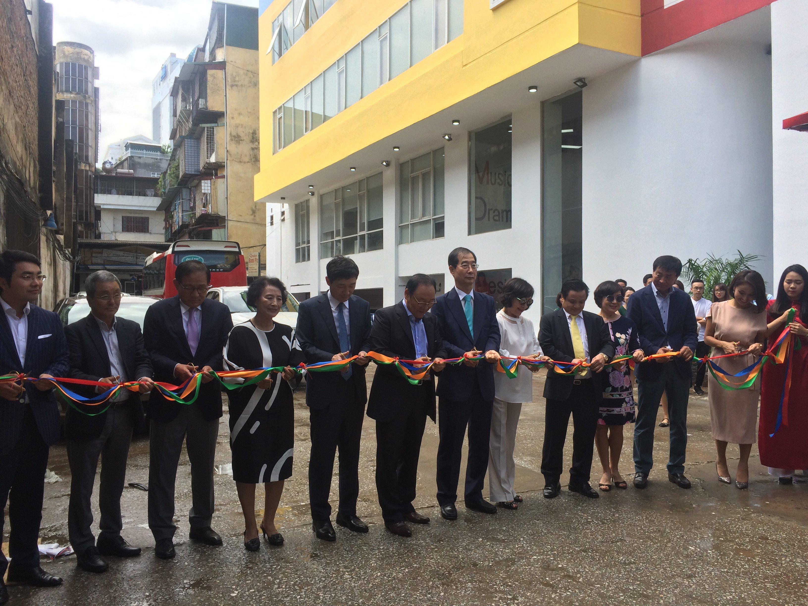 Ra mắt trường đào tạo nghệ thuật quốc tế ICA tại Hà Nội 5