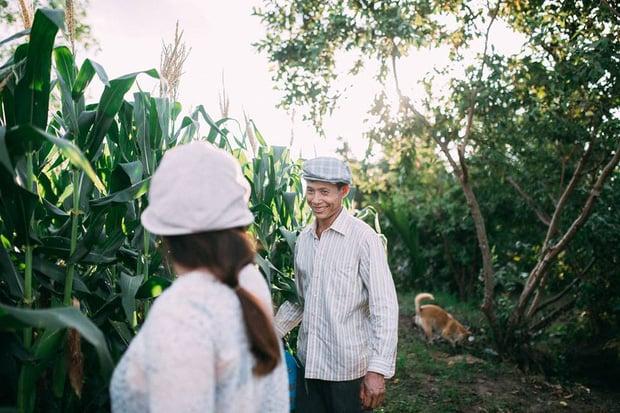 """Hình ảnh Câu chuyện xúc động về bộ ảnh cưới """"chăn trâu-mót lúa"""" của đôi vợ chồng Sóc Trăng số 4"""
