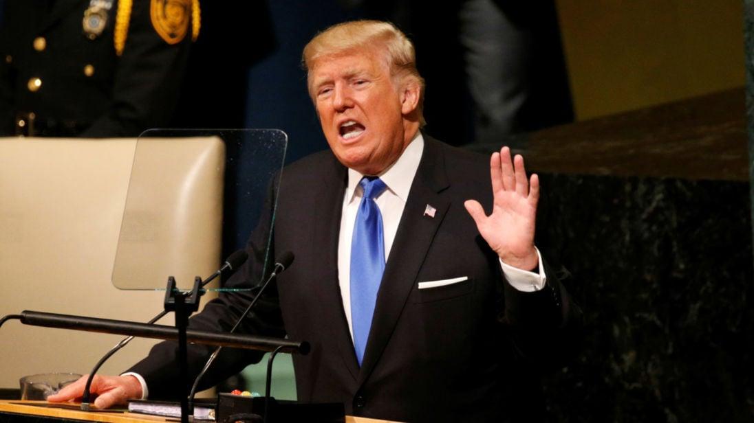 Hủy diệt hoàn toàn Triều Tiên - Đe dọa lạnh gáy chưa từng có tiền lệ của Trump 1