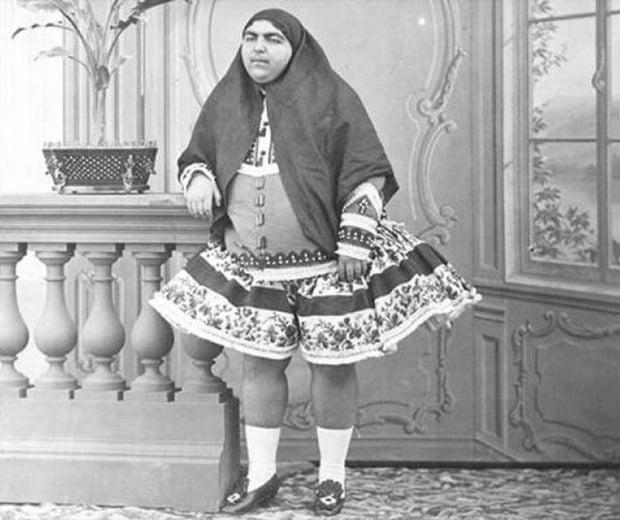 Dung nhan người vợ xinh đẹp trong hậu cung của vua Ba Tư 1