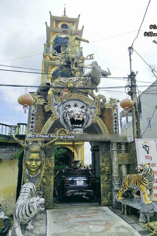 Cận cảnh những ngôi nhà kì quái ở Việt Nam 5