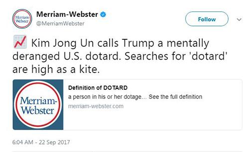 Không chịu kém cạnh, Kim Jong-un cũng đặt biệt danh cho Trump 1